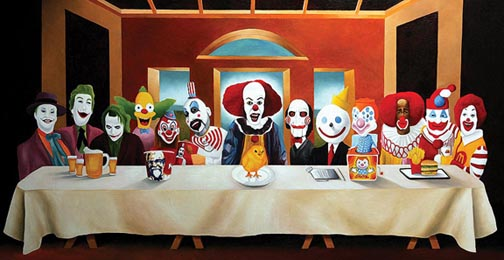 The Clowns Last Supper