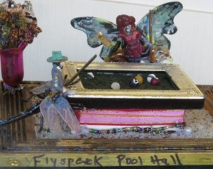 """Flyspeck Pool Hall"" by Linda Lawson"