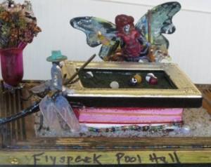 """""""Flyspeck Pool Hall"""" by Linda Lawson"""