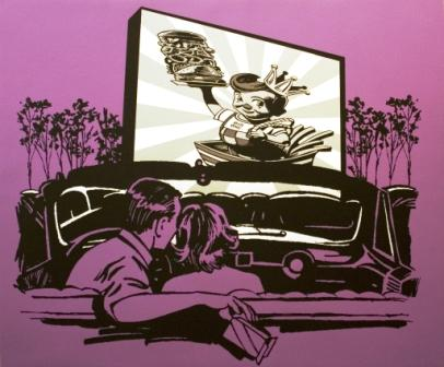 "Ken McGhee, ""Drive In"""