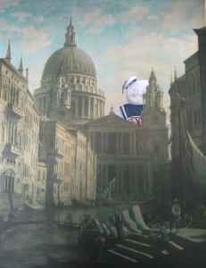 "Jo Anne Yada, ""Stay Puft Goes to Italy"""