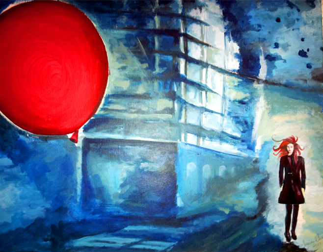 "Jessica Warren, ""Red Balloon"""