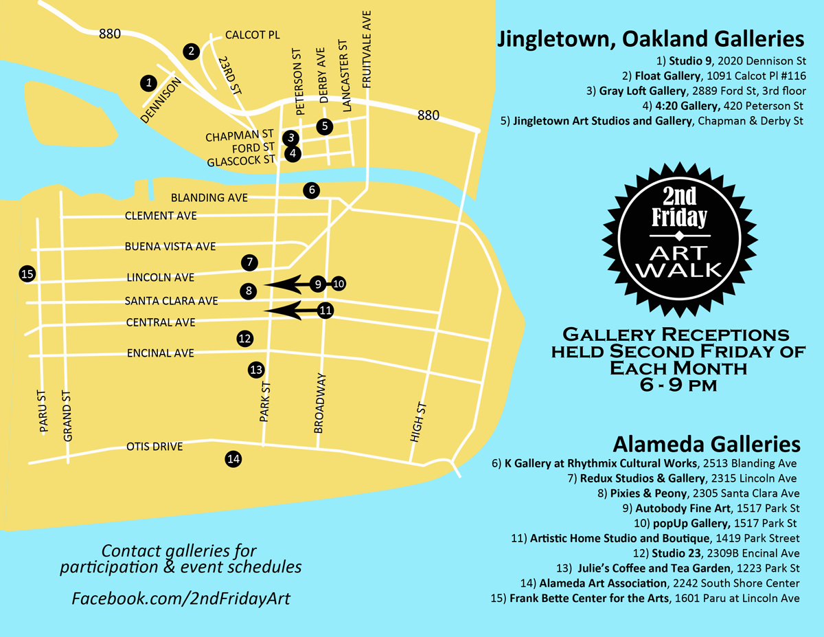 lo_artwalk map